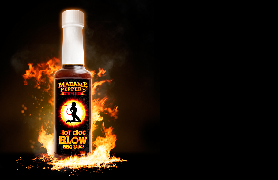 Hot Choc Blow BBQ Sauce | Madame Peppers | Xtreme HEAT